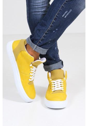 Ανδρικά Παπούτσια Run Mustard