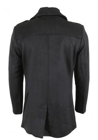 Ανδρικό Παλτό Note Black