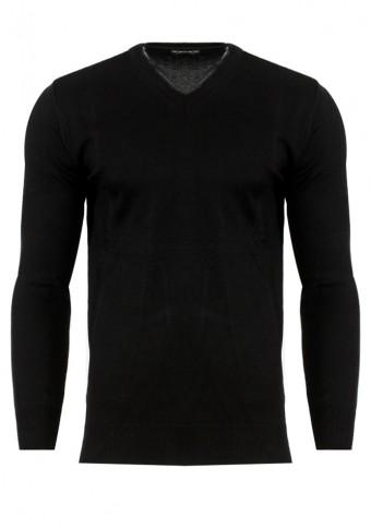 Ανδρική Πλεκτή Μπλούζα Game Black