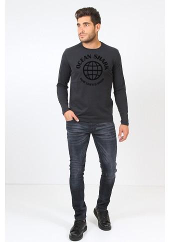 Ανδρική Μπλούζα Crafted Black