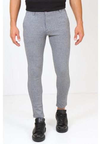 Ανδρικό Παντελόνι Κοντό Editor Grey