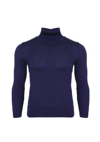 Ανδρική Πλεκτή Μπλούζα Ζιβάγκο Blue