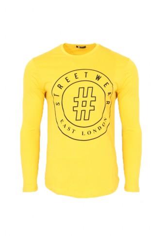 Ανδρική Μπλούζα # Mustard