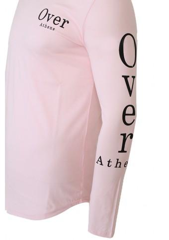 Ανδρική Μπλούζα Overed Pink