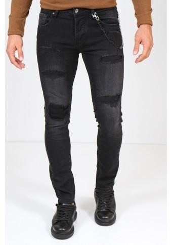 Ανδρικό Jean Symbol Black
