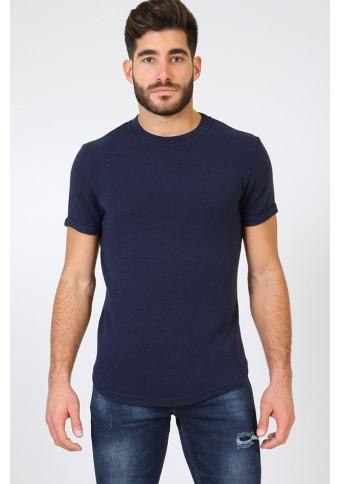 Ανδρικό T-shirt Pursue D.Blue