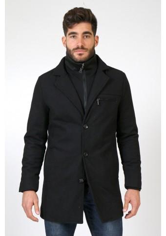 Ανδρικό Παλτό Dance Black