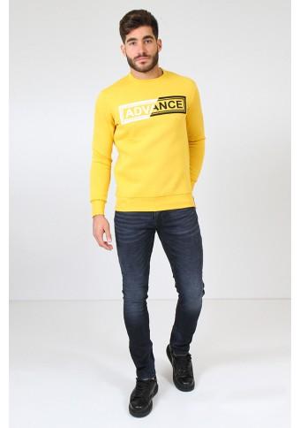 Ανδρικό Φούτερ Advance Mustard