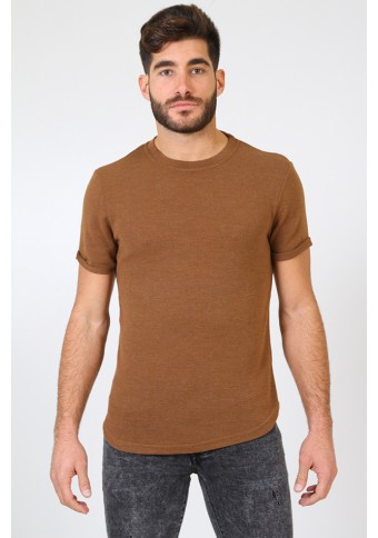 Ανδρικό T-shirt Pursue Brown