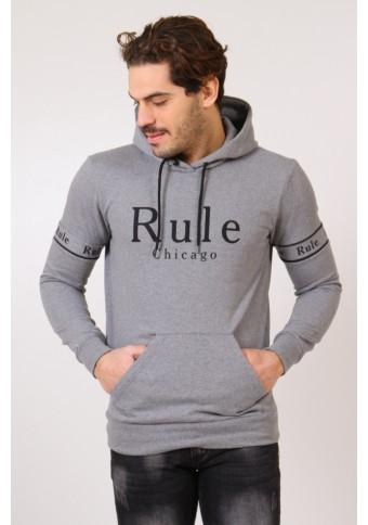 Ανδρικό Φούτερ Rule Grey