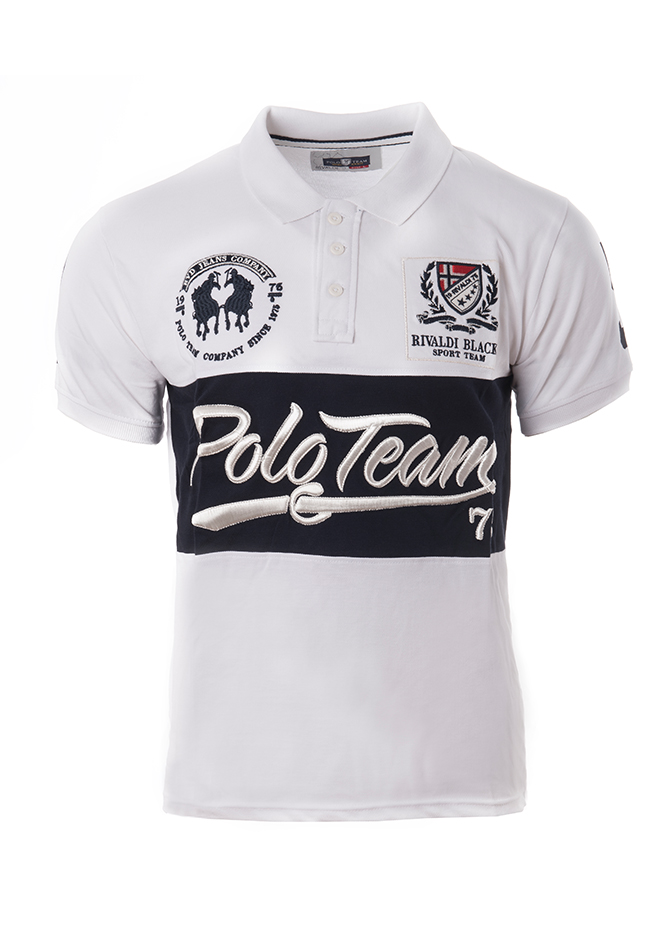 4fea16aaae56 Ανδρικό Polo Team White