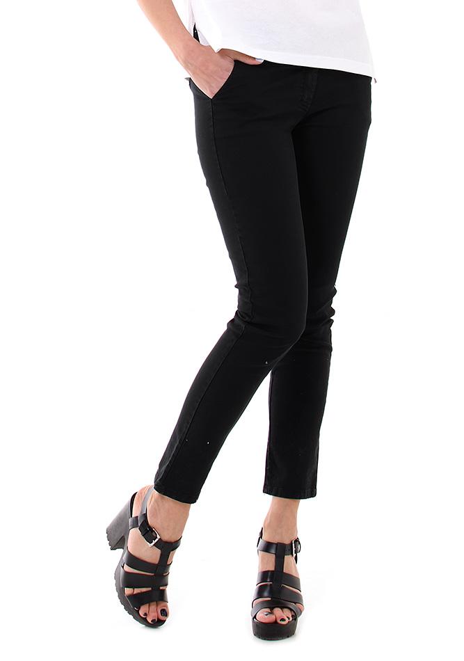 Υφασμάτινο Παντελόνι Be Black αρχική γυναικεία ρούχα παντελόνια