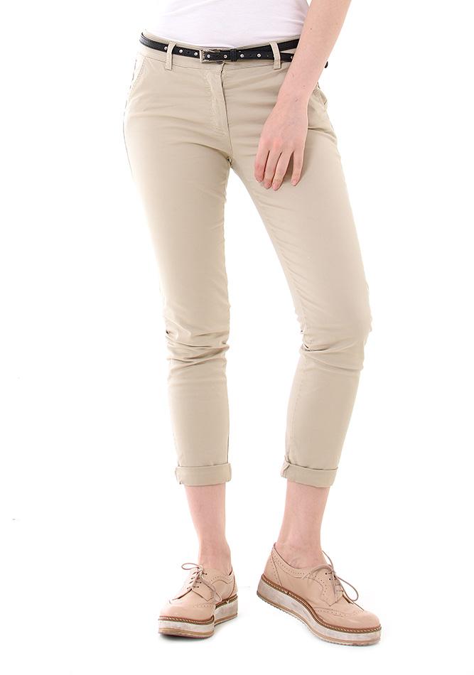 Υφασμάτινο Παντελόνι Wear Beige αρχική γυναικεία ρούχα παντελόνια