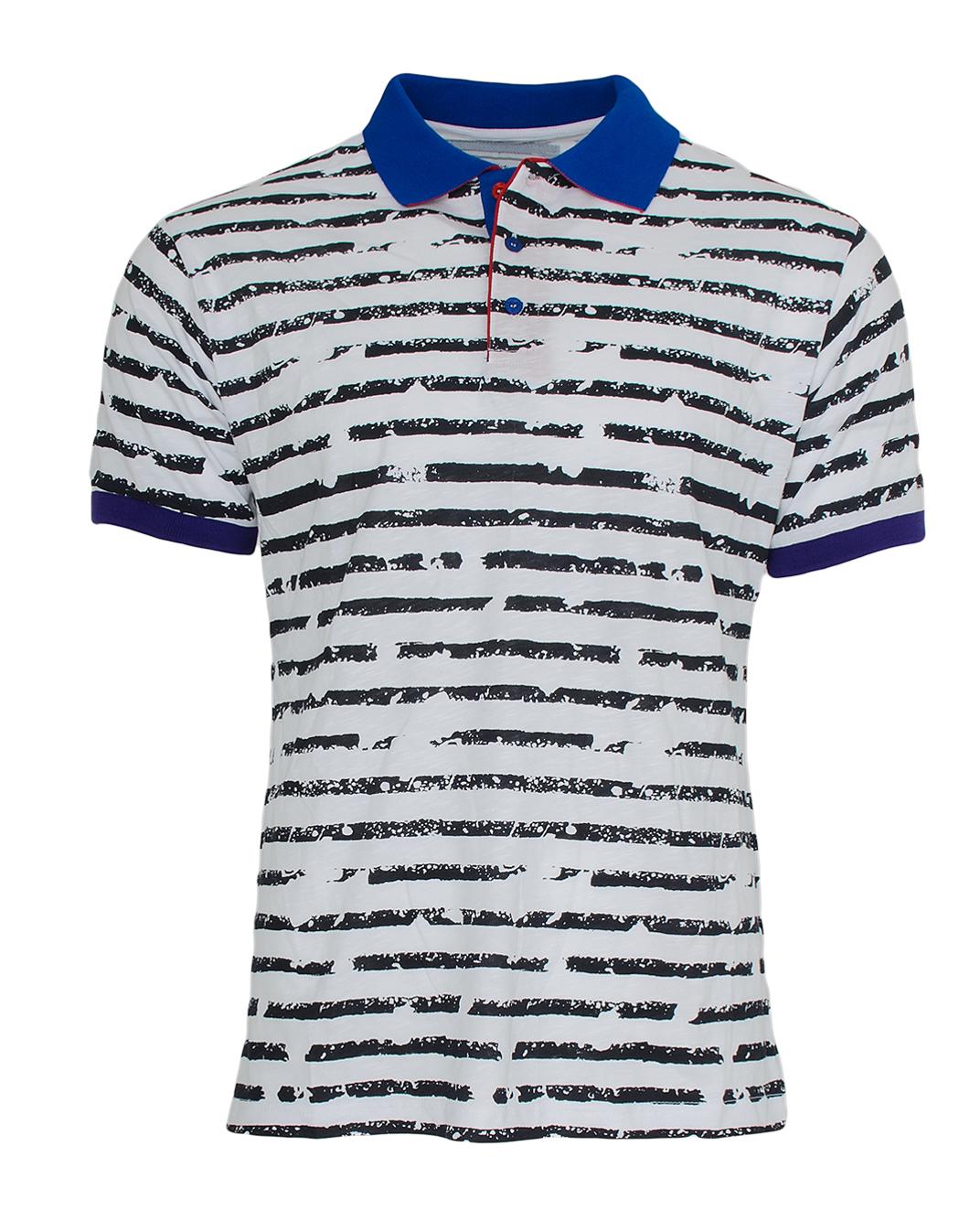 Ανδρικό Polo Zen Black Stripes-Άσπρο αρχική ανδρικά ρούχα polo
