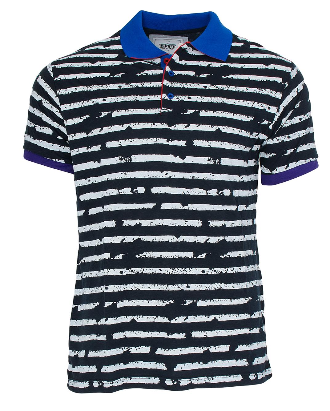 Ανδρικό Polo Zen White Stripes-Μαύρο αρχική ανδρικά ρούχα polo