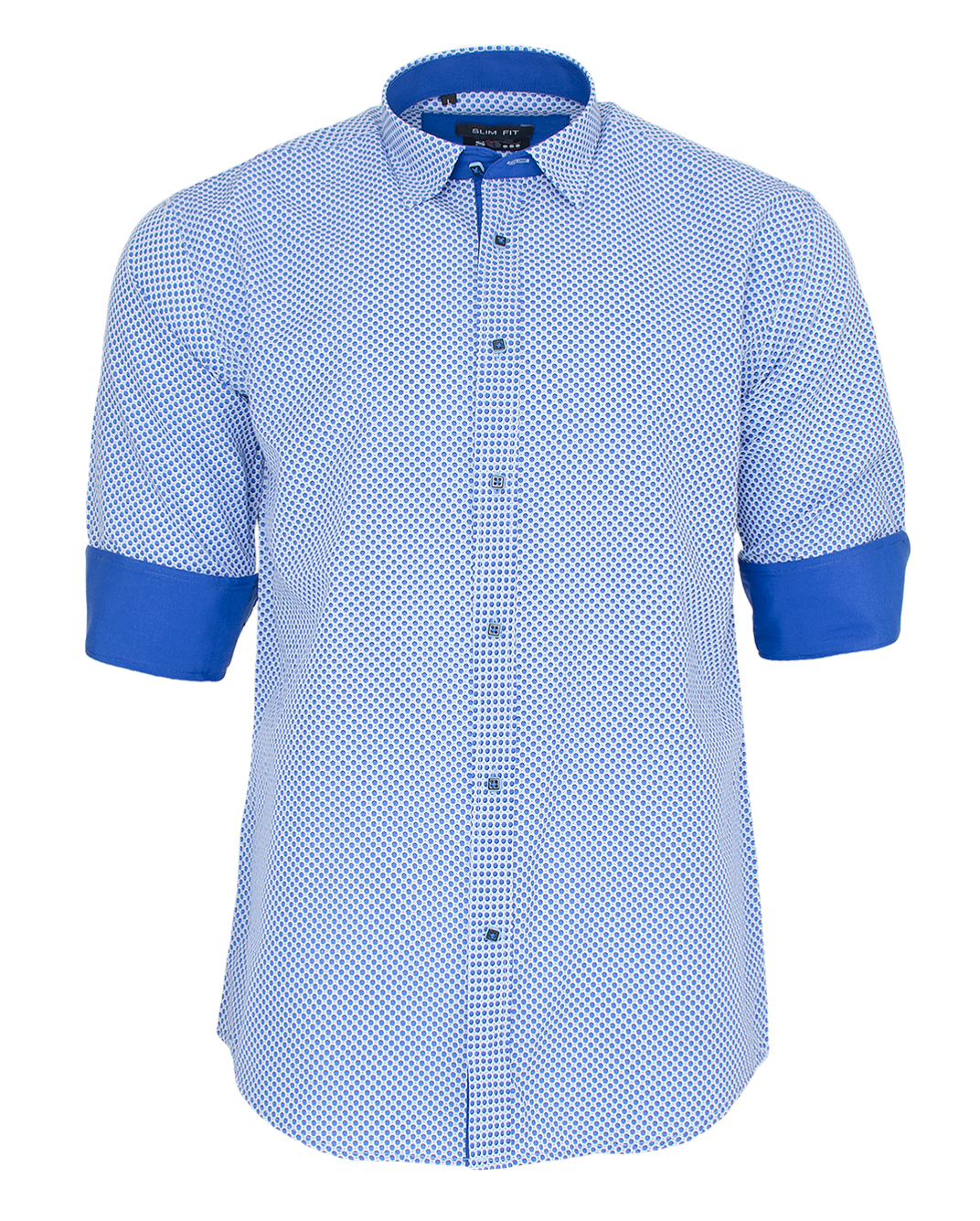 Ανδρικό Πουκάμισο So Fashion Ciel-Blue Poua-Σιέλ αρχική ανδρικά ρούχα επιλογή ανά προϊόν πουκάμισα