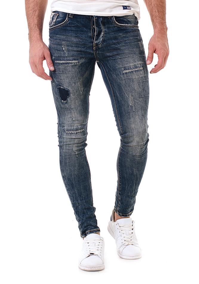 Ανδρικό Jean Stressed αρχική ανδρικά ρούχα επιλογή ανά προϊόν παντελόνια παντελόνια jeans