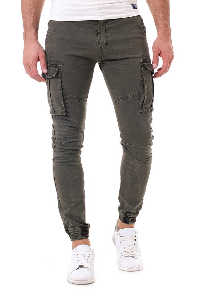 Ανδρικό Chino Παντελόνι Same Olive Green αρχική ανδρικά ρούχα επιλογή ανά προϊόν παντελόνια παντελόνια chinos