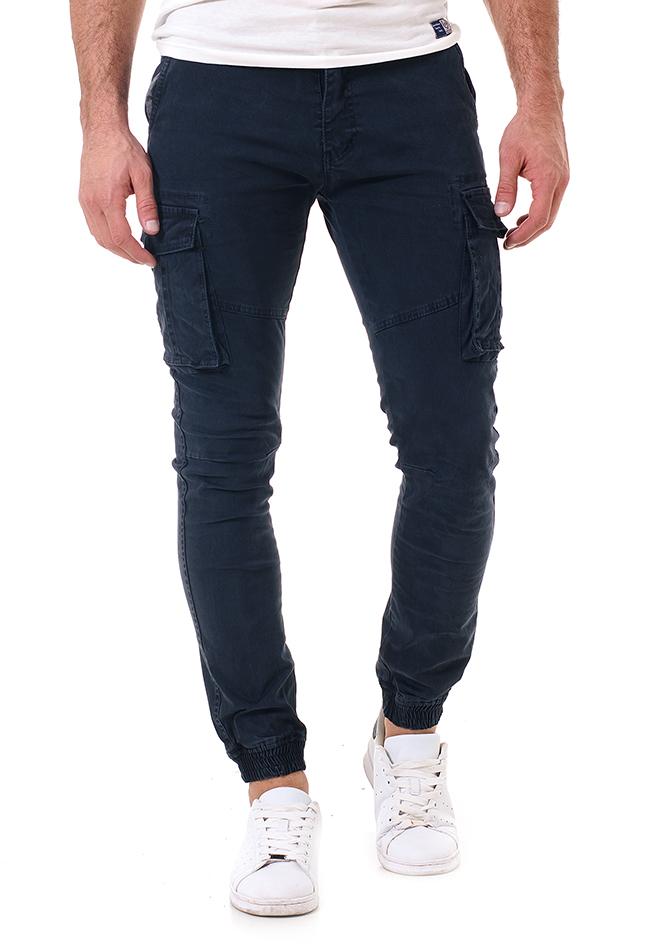 Ανδρικό Cargo Παντελόνι Same Blue αρχική άντρας παντελόνια chinos   cargos