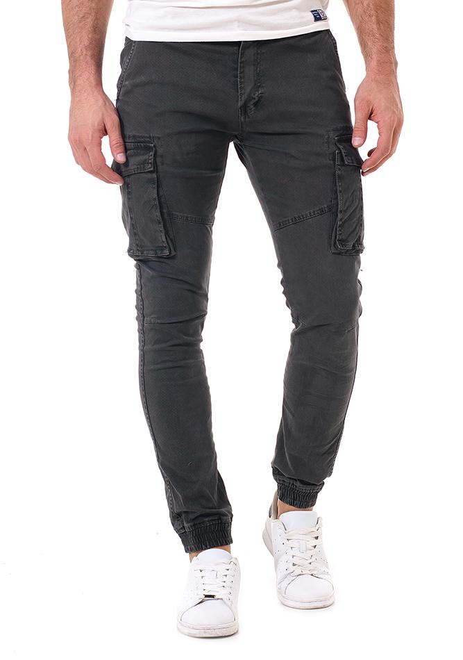 Ανδρικό Cargo Παντελόνι Same Grey αρχική άντρας παντελόνια chinos   cargos