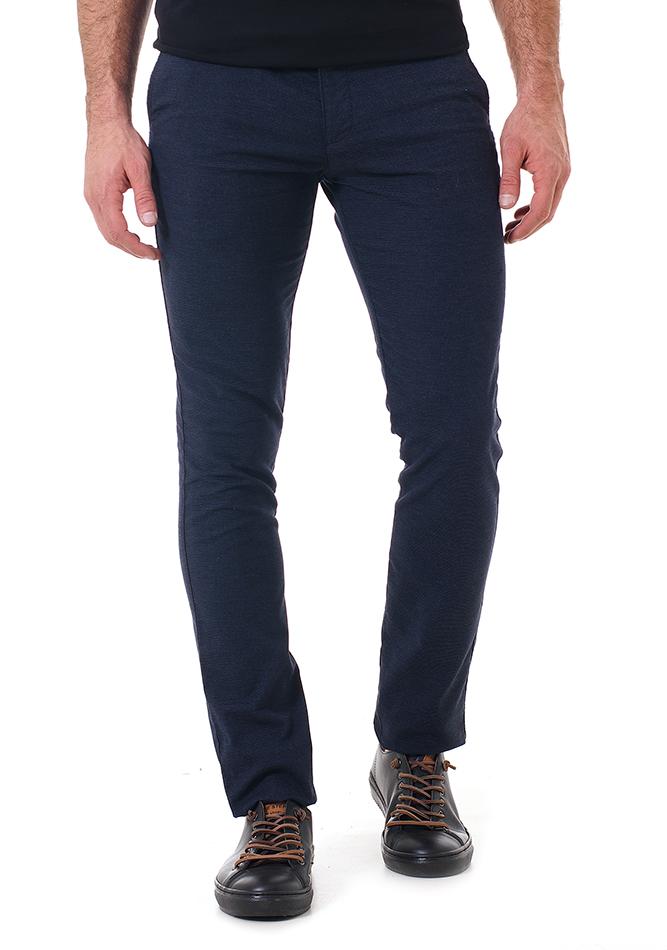 Ανδρικό Chino Παντελόνι Past Blue αρχική ανδρικά ρούχα επιλογή ανά προϊόν παντελόνια παντελόνια chinos