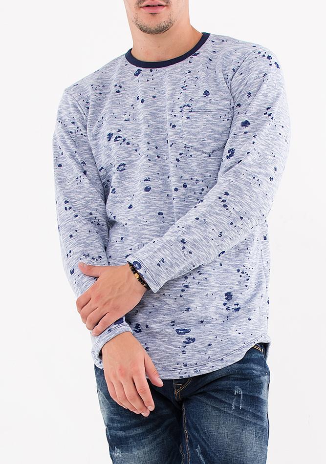 Ανδρική Μπλούζα Blue Pocket αρχική ανδρικά ρούχα μπλούζες