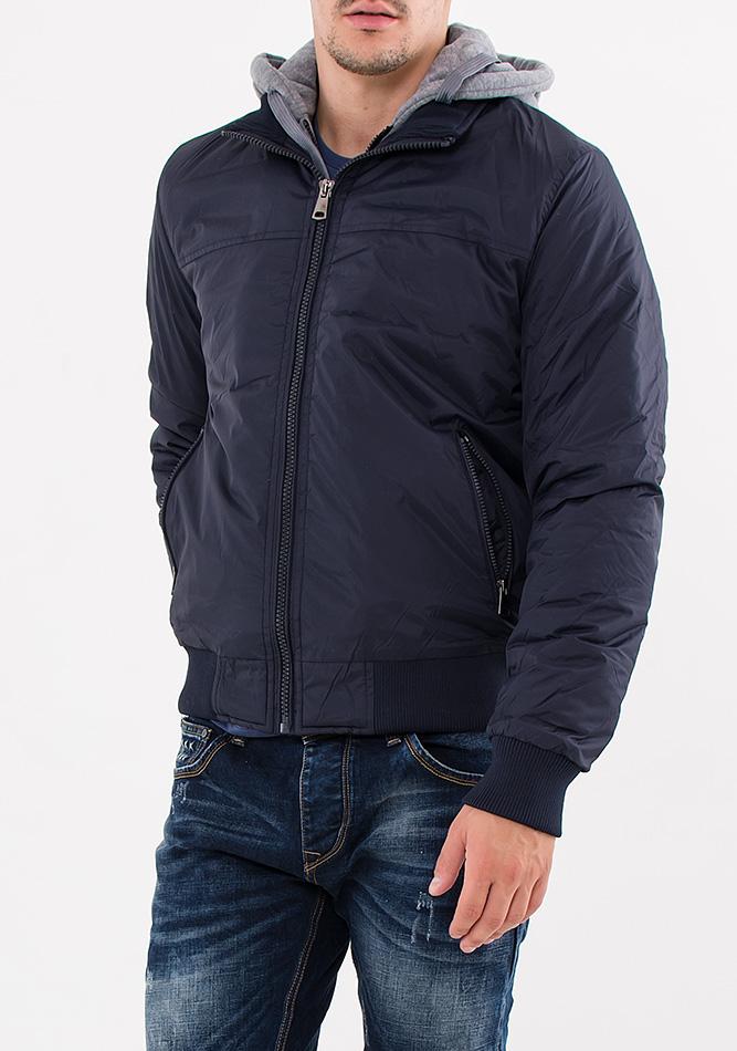 Ανδρικό Μπουφάν Palablu Grey Blue αρχική ανδρικά ρούχα μπουφάν