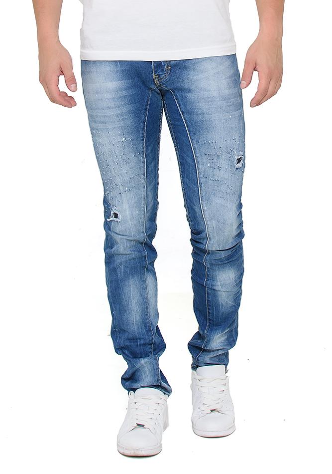 Ανδρικό Jean Process αρχική ανδρικά ρούχα παντελόνια παντελόνια jeans