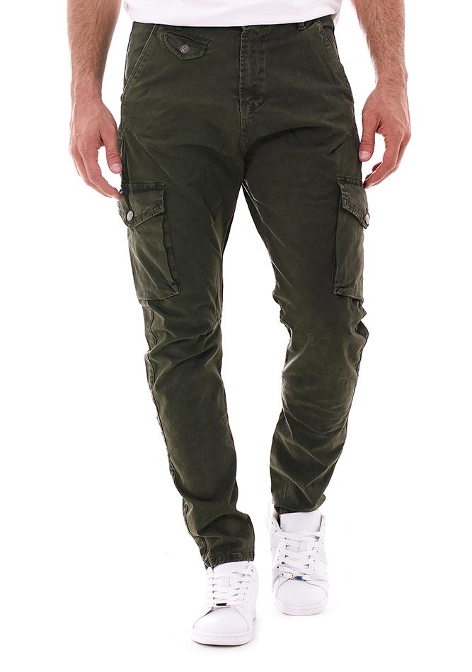 Ανδρικό Chino Outbound Olive Green αρχική ανδρικά ρούχα επιλογή ανά προϊόν παντελόνια παντελόνια chinos