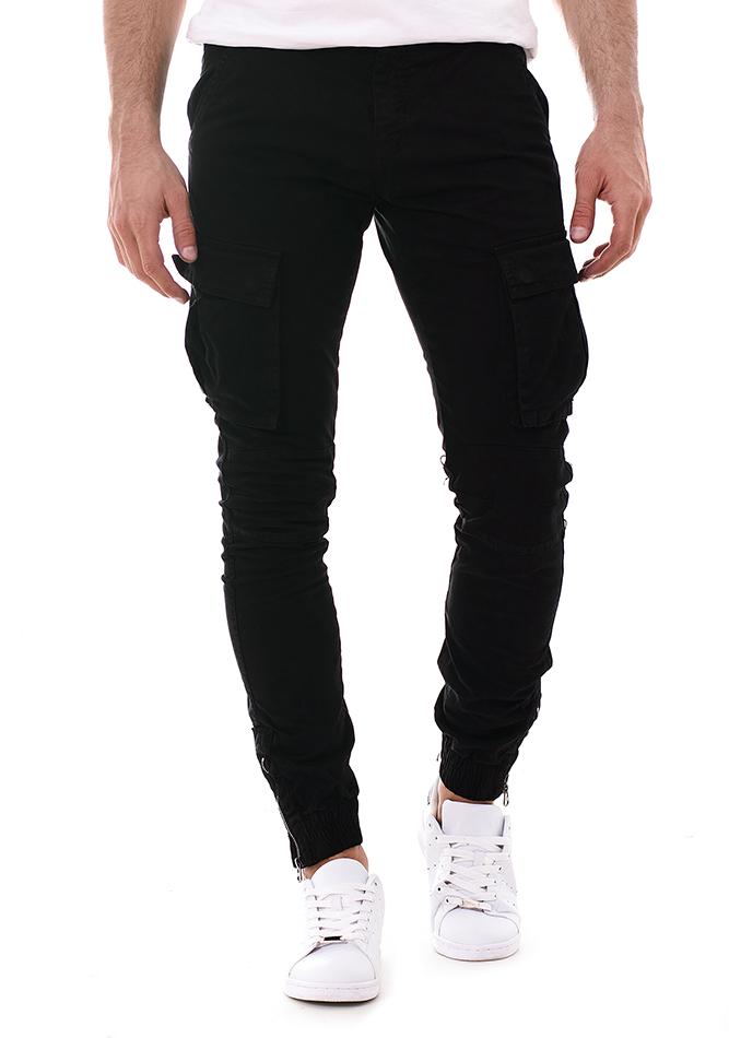 Ανδρικό Chino Παντελόνι River Black αρχική ανδρικά ρούχα επιλογή ανά προϊόν παντελόνια παντελόνια chinos
