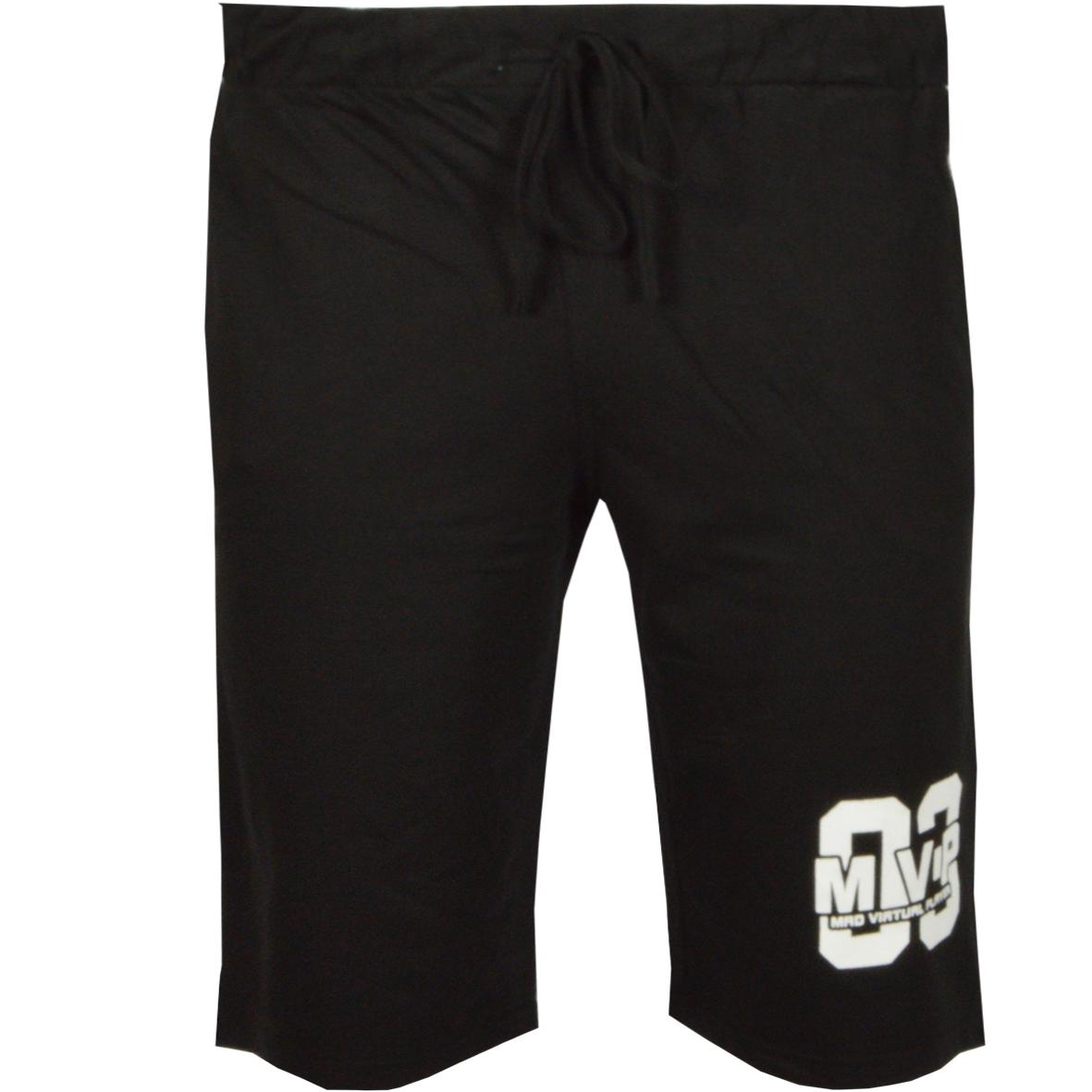 Ανδρική Βερμούδα So Mvp-Μαύρο αρχική ανδρικά ρούχα επιλογή ανά προϊόν βερμούδες