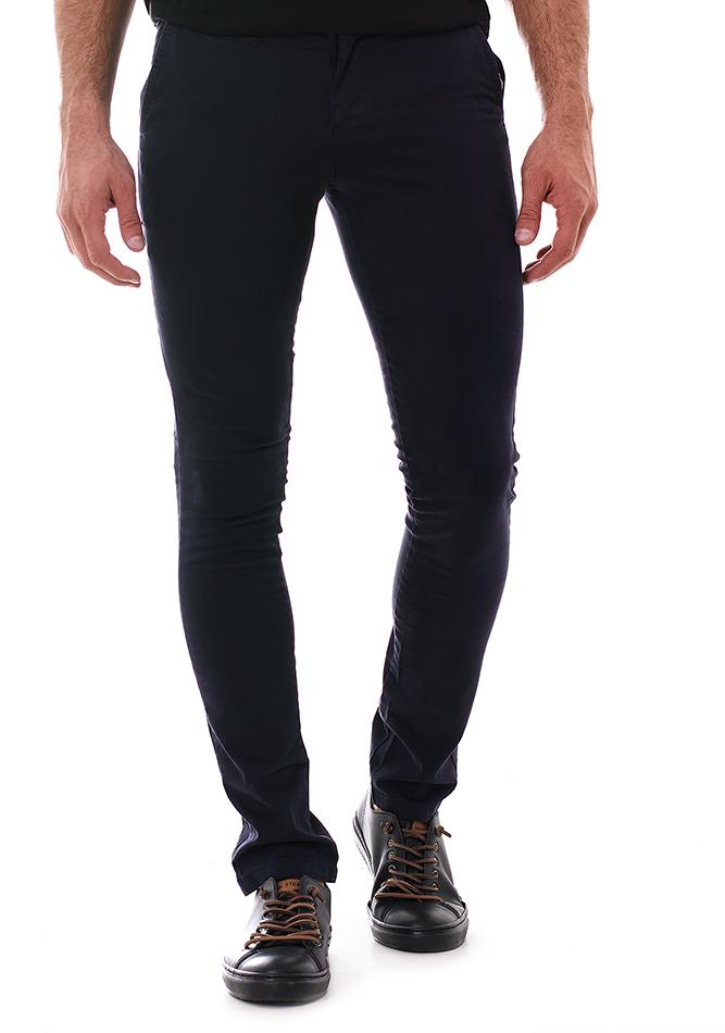 Ανδρικό Chino Παντελόνι Fine D.Blue αρχική ανδρικά ρούχα επιλογή ανά προϊόν παντελόνια παντελόνια chinos