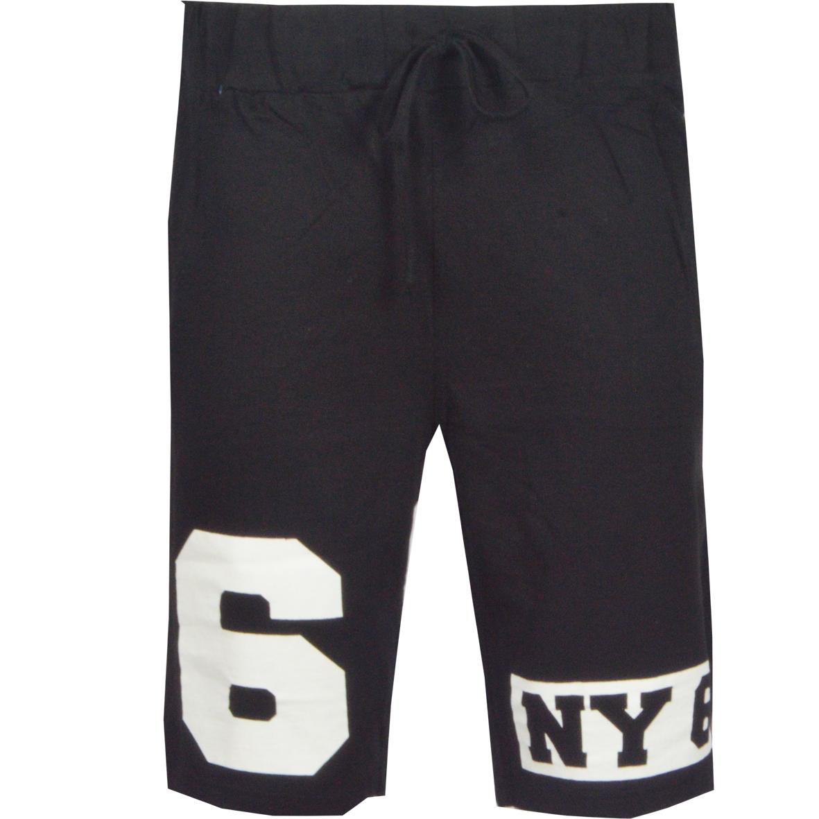 Ανδρική βερμούδα NY-Μαύρο αρχική ανδρικά ρούχα επιλογή ανά προϊόν βερμούδες