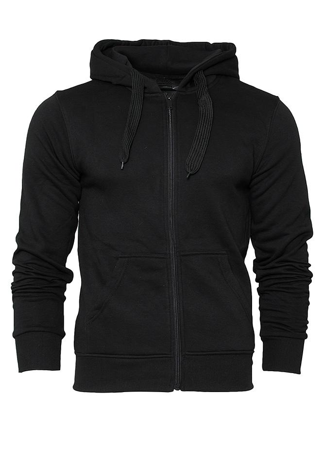 Ανδρική Ζακέτα Stegol Black αρχική ανδρικά ρούχα φούτερ