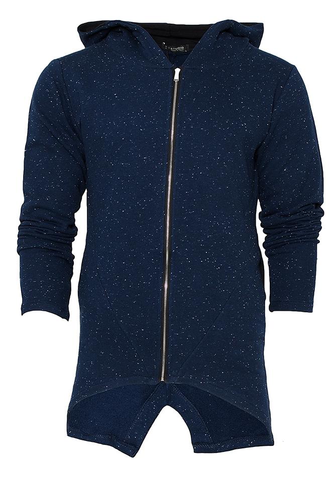 Ζακέτα M-Studio Blue αρχική ανδρικά ρούχα φούτερ