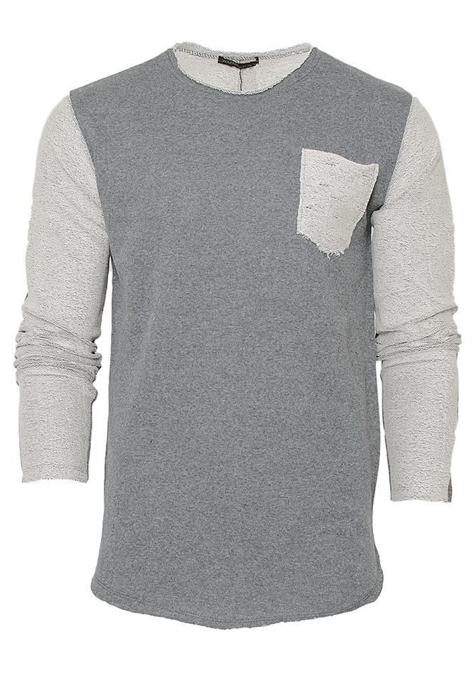 Ανδρικό Φούτερ Back Sewing Grey αρχική ανδρικά ρούχα επιλογή ανά προϊόν φούτερ
