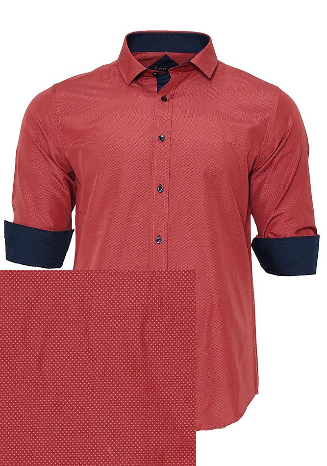 Ανδρικό Πουκάμισο CND Bordeaux αρχική ανδρικά ρούχα επιλογή ανά προϊόν πουκάμισα