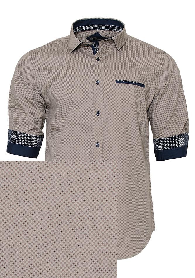 Ανδρικό Πουκάμισο CND Brown Poua αρχική ανδρικά ρούχα επιλογή ανά προϊόν πουκάμισα