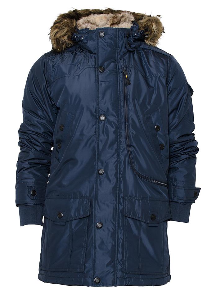Ανδρικό Μπουφάν Parka Biston D.Blue αρχική ανδρικά ρούχα μπουφάν