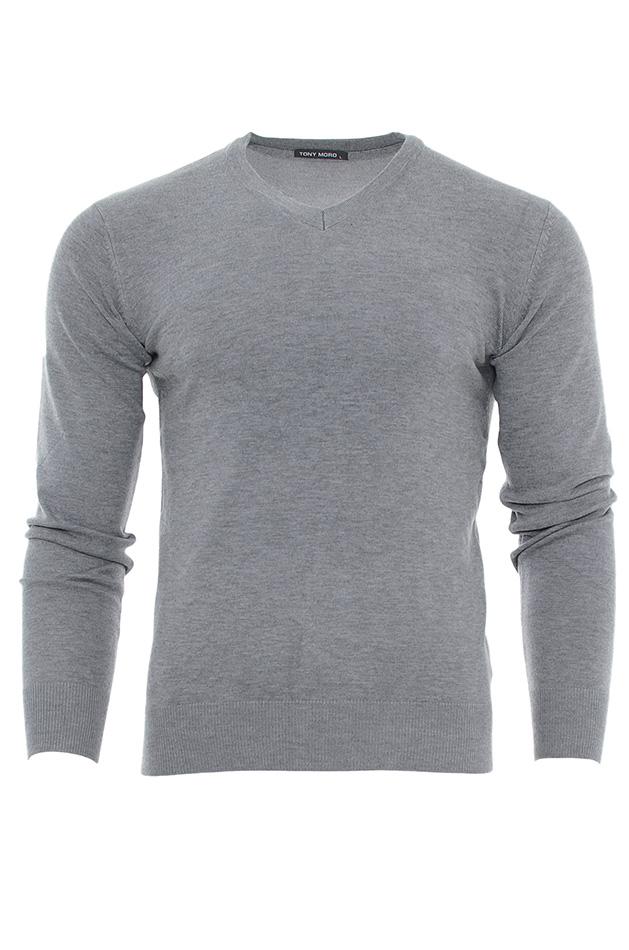 Ανδρική μπλούζα Tony Moro Grey 0d19647bc09