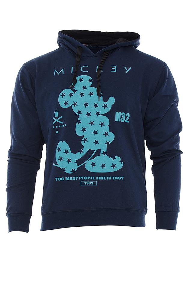 Ανδρικό Φούτερ Mickey D. Blue αρχική ανδρικά ρούχα φούτερ