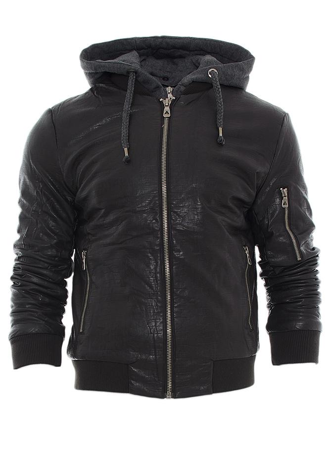 Μπουφάν Δερματίνη Forex Dark Brown αρχική ανδρικά ρούχα μπουφάν