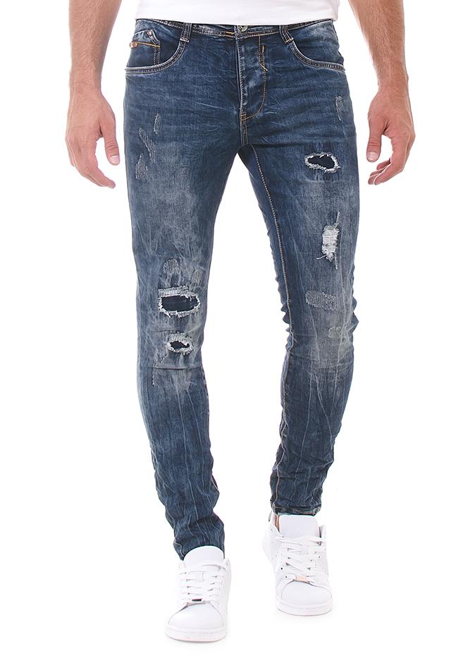 Ανδρικό Jean Salut αρχική άντρας παντελόνια jeans