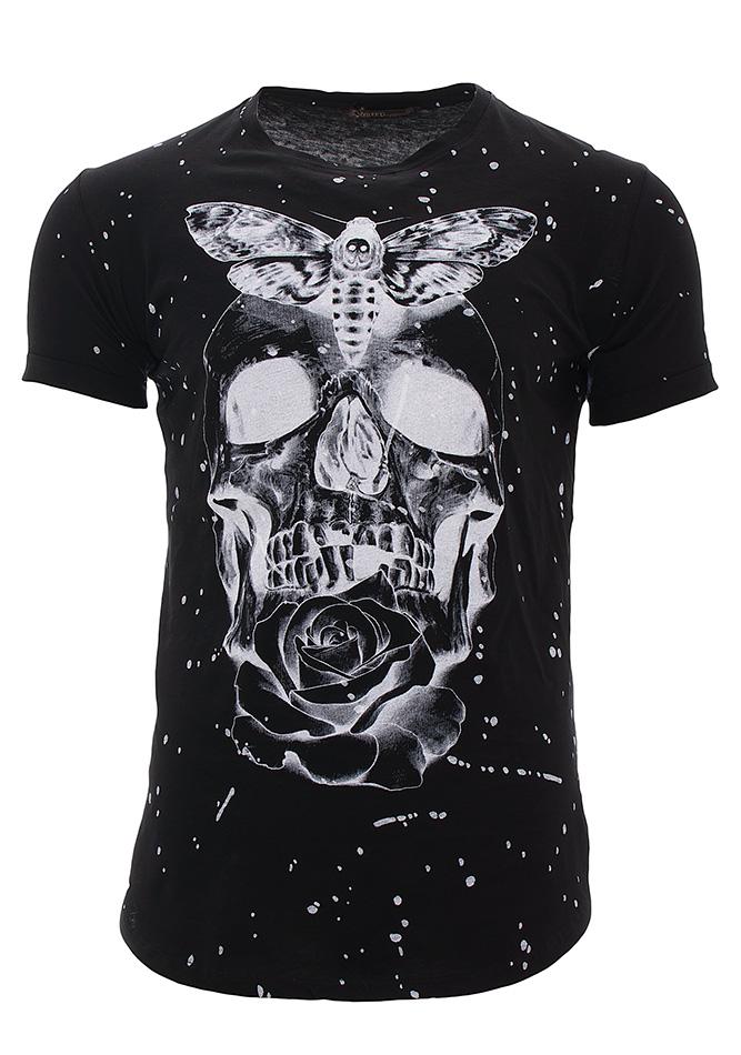 526e1501b4e6 Ανδρικό T-shirt Rose Black