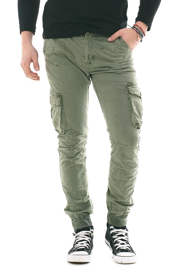 Ανδρικό Chino X-Three Army Green αρχική ανδρικά ρούχα επιλογή ανά προϊόν παντελόνια παντελόνια chinos