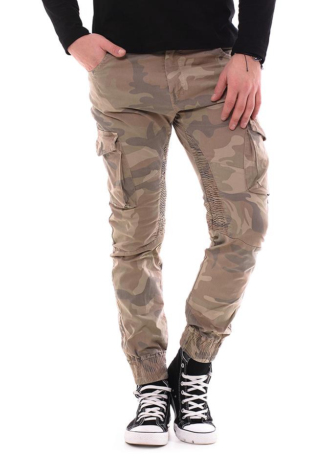 Ανδρικό Chino Παντελόνι XZX Khaki αρχική ανδρικά ρούχα παντελόνια παντελόνια chinos