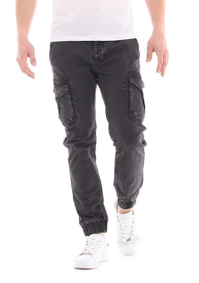 Ανδρικό Chino Enos Grey αρχική ανδρικά ρούχα επιλογή ανά προϊόν παντελόνια παντελόνια chinos