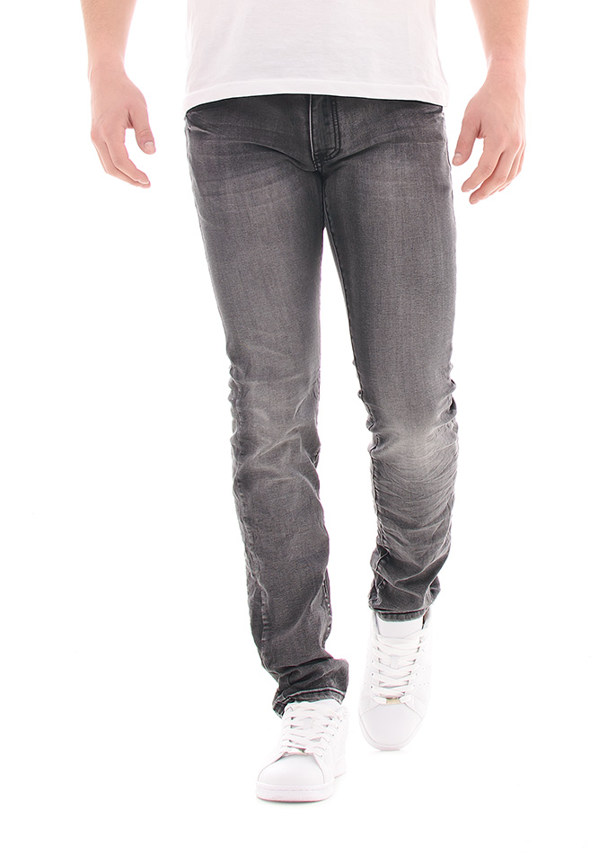 Ανδρικό Jean Leeyo Grey αρχική ανδρικά ρούχα επιλογή ανά προϊόν παντελόνια παντελόνια jeans
