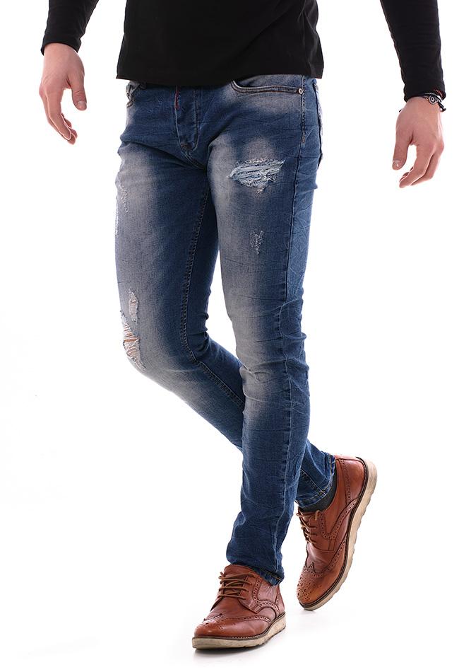 Ανδρικό Jean Premium Day αρχική ανδρικά ρούχα επιλογή ανά προϊόν παντελόνια παντελόνια jeans