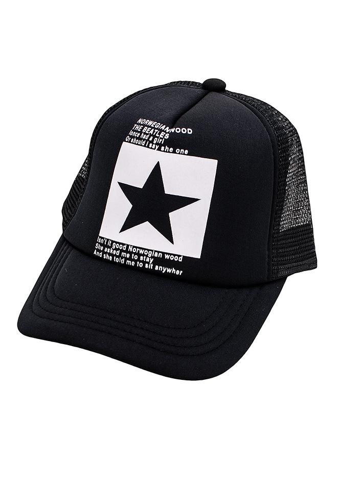 Ανδρικό Καπέλο White Black αρχική αξεσουάρ   παπούτσια καπέλα